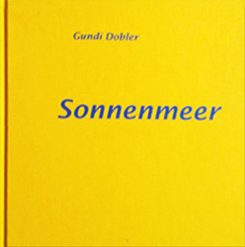 """Cover des Gedichtbandes """"Sonnenmeer"""""""